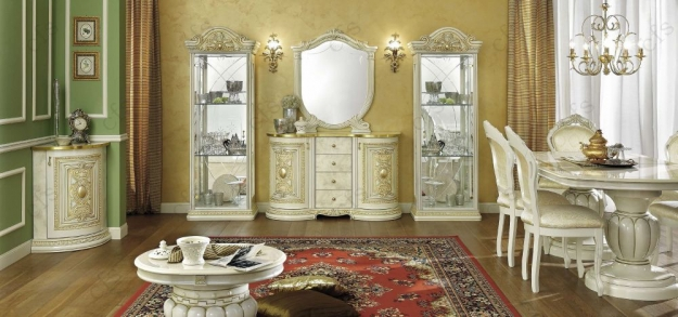 Camel Leonardo Italian Buffet - 2 Door with Small Mirror