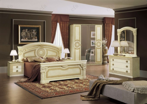Camel Aida Italian Dresser - Single
