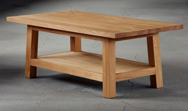Qualita Trinity Oak Coffee Table