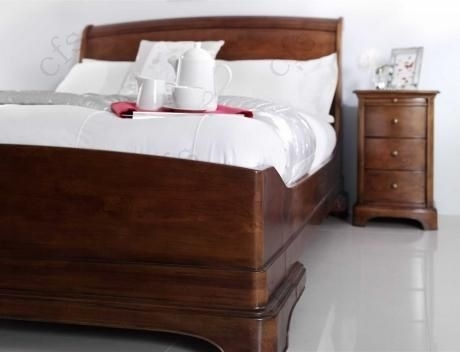 Willis and Gambier Lille Cherry Bedstead - Low Foot End