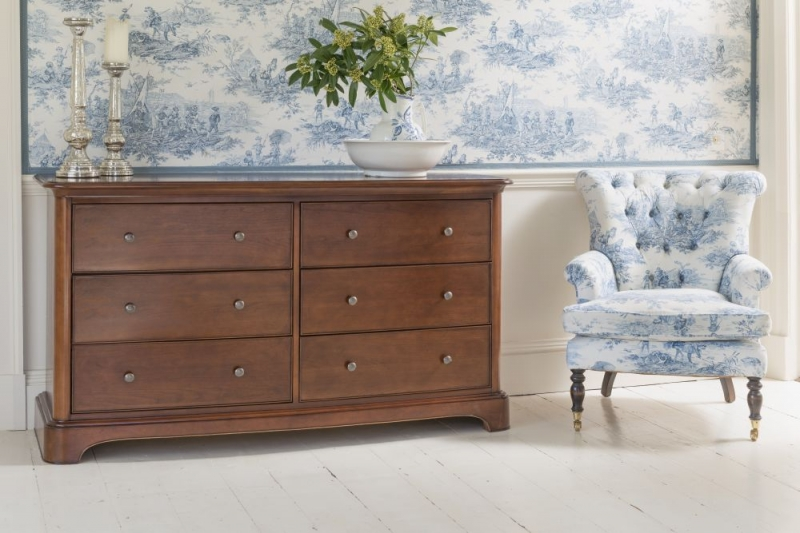 Willis and Gambier Lille Cherry 6 Drawer Chest