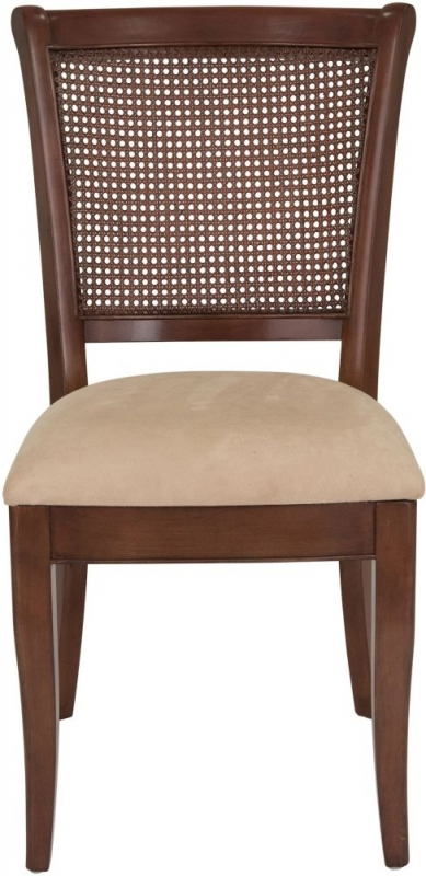 Willis and Gambier Lille Cherry Cane Dining Chair (Pair)