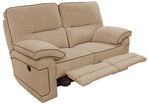 Buoyant Plaza 2 Seater Fabric Recliner Sofa