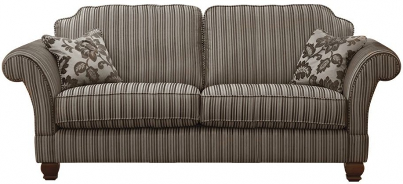 Buoyant Constable 3 Seater Fabric Sofa