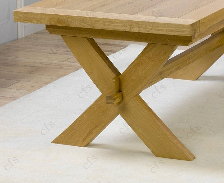 Mark Harris Avignon Solid Oak 200cm Extending Dining Table