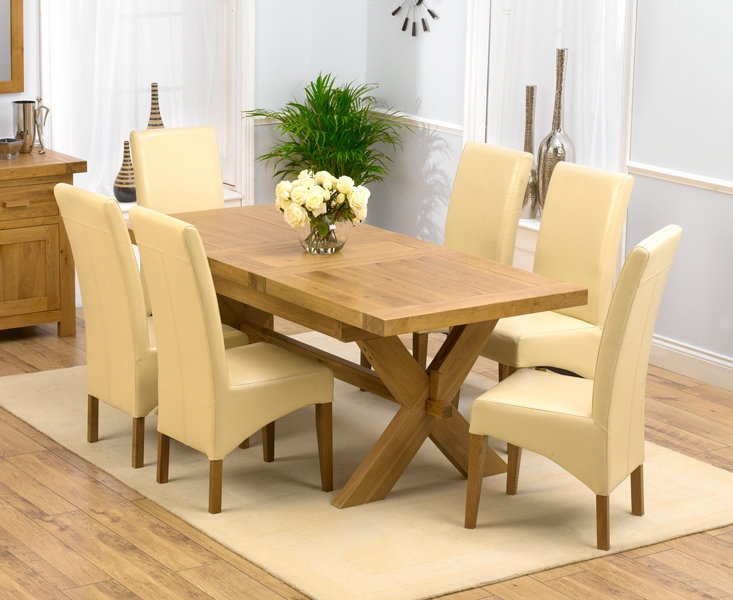 Mark Harris Avignon Extending Dining Table And 4 Roma Chairs
