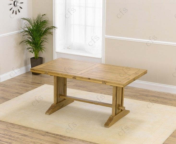 Mark Harris Cavanaugh Oak 165cm Extending Dining Table with 6 Valencia Timber Seat Chairs