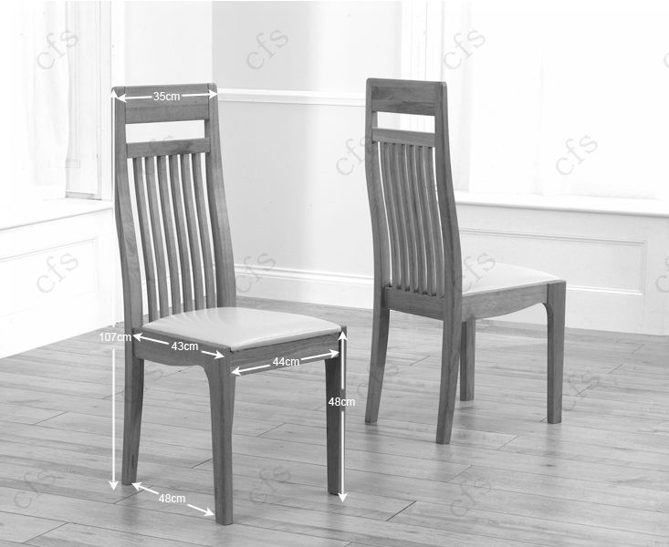 Mark Harris Madrid Solid Oak 200cm Dining Set with 6 Monte Carlo Black Dining Chairs