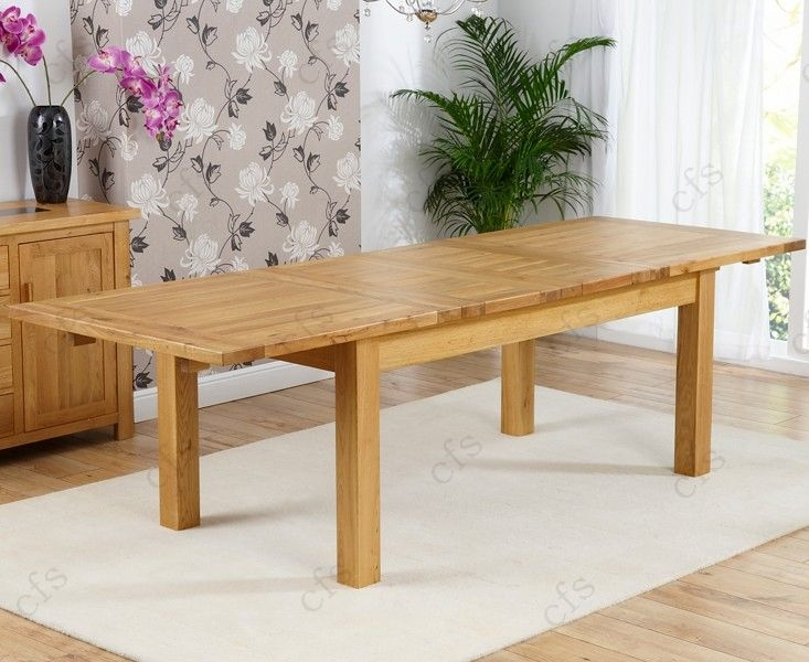 Mark Harris Rustique Solid Oak 180cm Extending Dining Table with 6 Arizona Brown Chair
