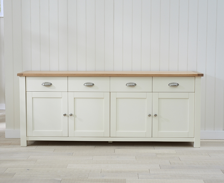 Mark Harris Sandringham Oak and Cream Sideboard - Extra Large