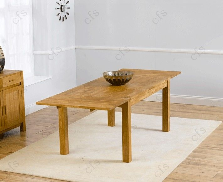Mark Harris Verona Solid Oak 150cm Dining Set with 6 John Louis Brown Dining Chairs