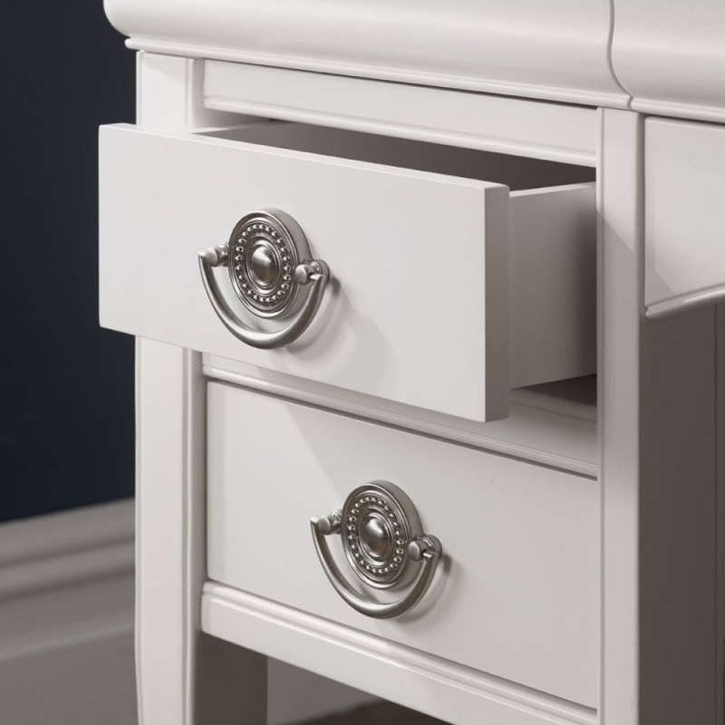 Bentley Designs Chantilly White Dressing Table