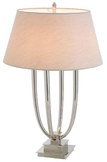 RV Astley Aurora Nickel Table Lamp