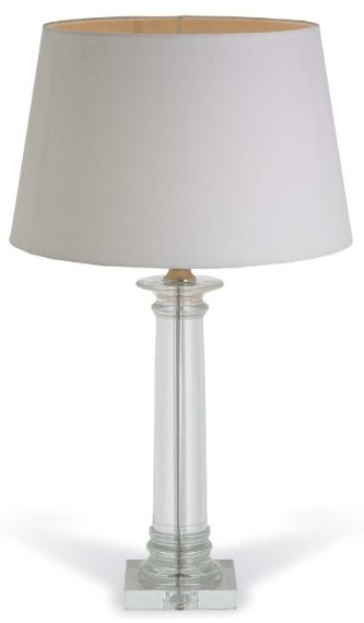 RV Astley Delanna Crystal Tall Column Lamp Base Only