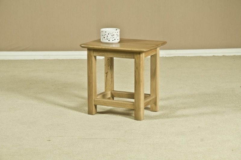 Tuscany Oak Side Table