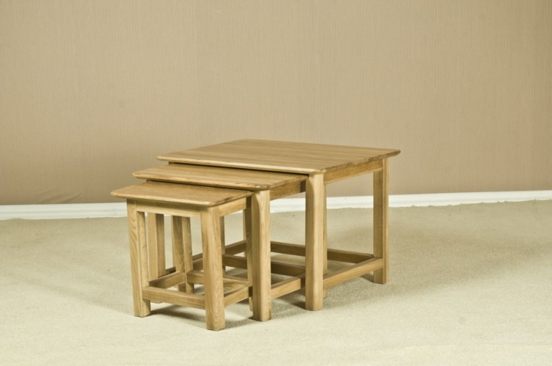Tuscany Oak Nest of Tables