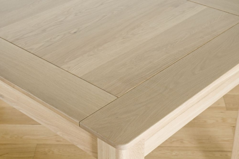 Toulouse Oak Large Extending Dining Table