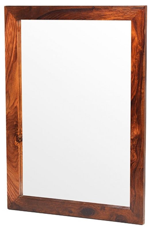 Kuba Sheesham Rectangular Mirror