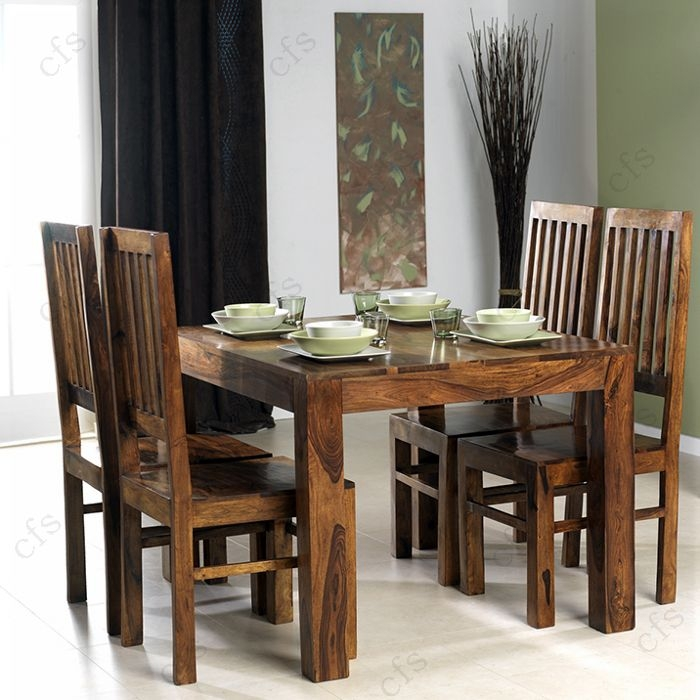 Cuba Sheesham Medium Dining Table