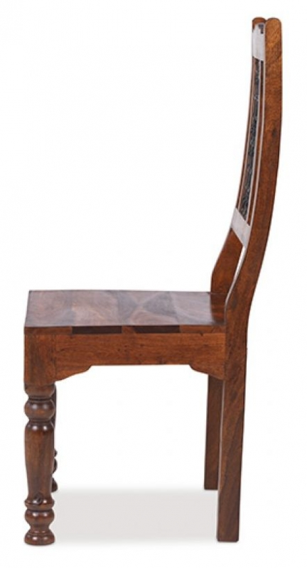 Jali Sheesham Low Back Chair (Pair)