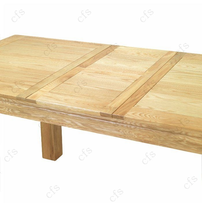 Bayonne Oak Large Extending Dining Table