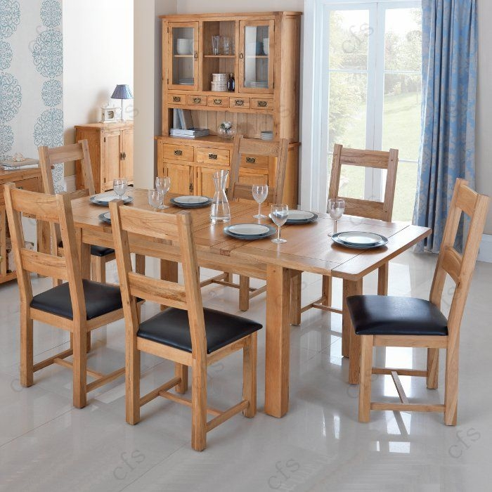 Cherbourg Oak Dining Chair(Pair)