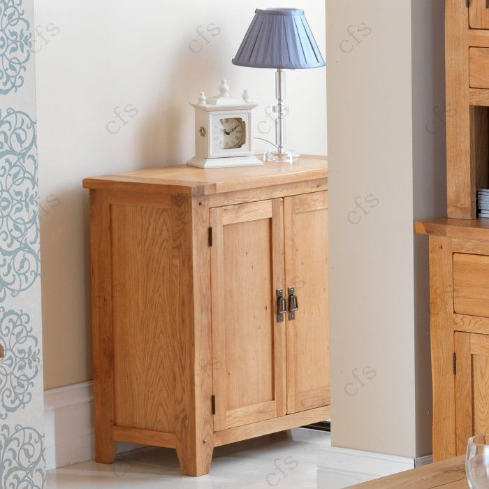 Cherbourg Oak Small Cupboard
