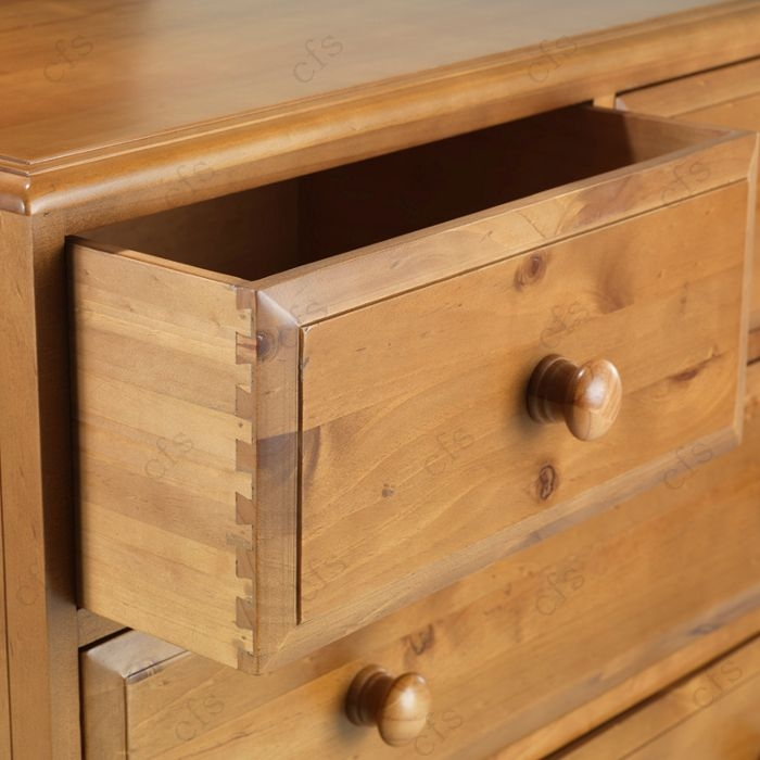 Hendon Pine 3+4 Chest of Drawer