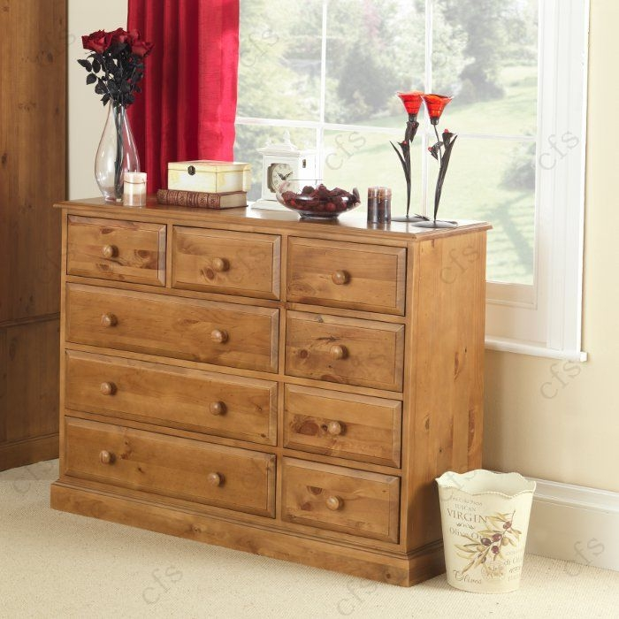 Hendon Pine 9 Chest of Drawer