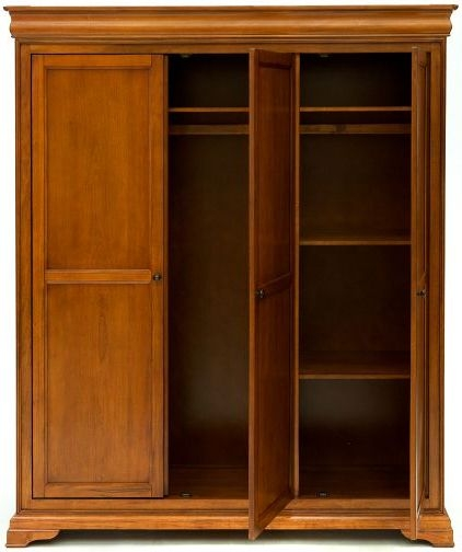 Willis and Gambier Louis Philippe Honeycomb Triple Wardrobe