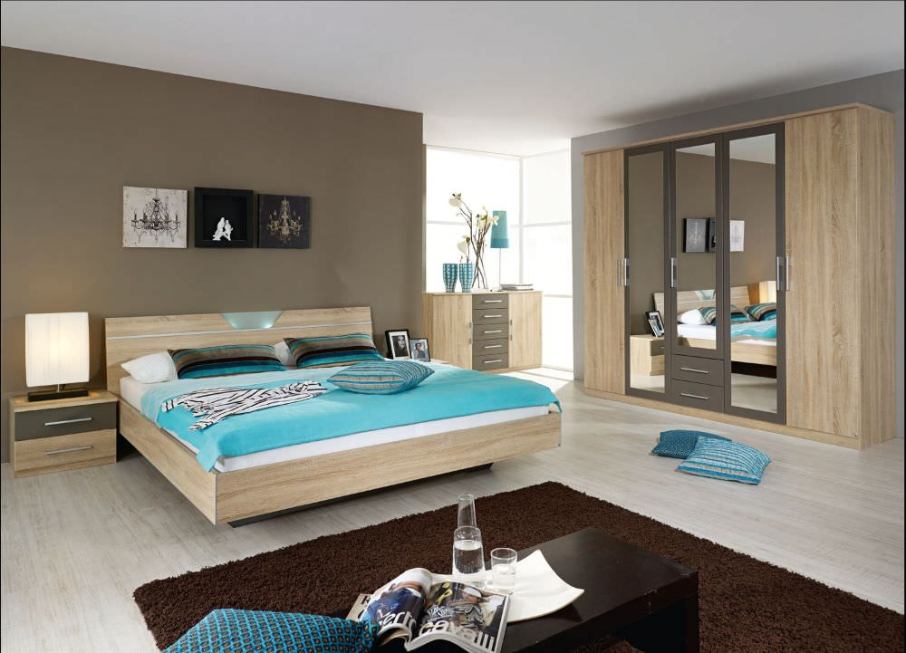 Buy rauch valence wardrobe online cfs uk for Chambre a coucher conforama