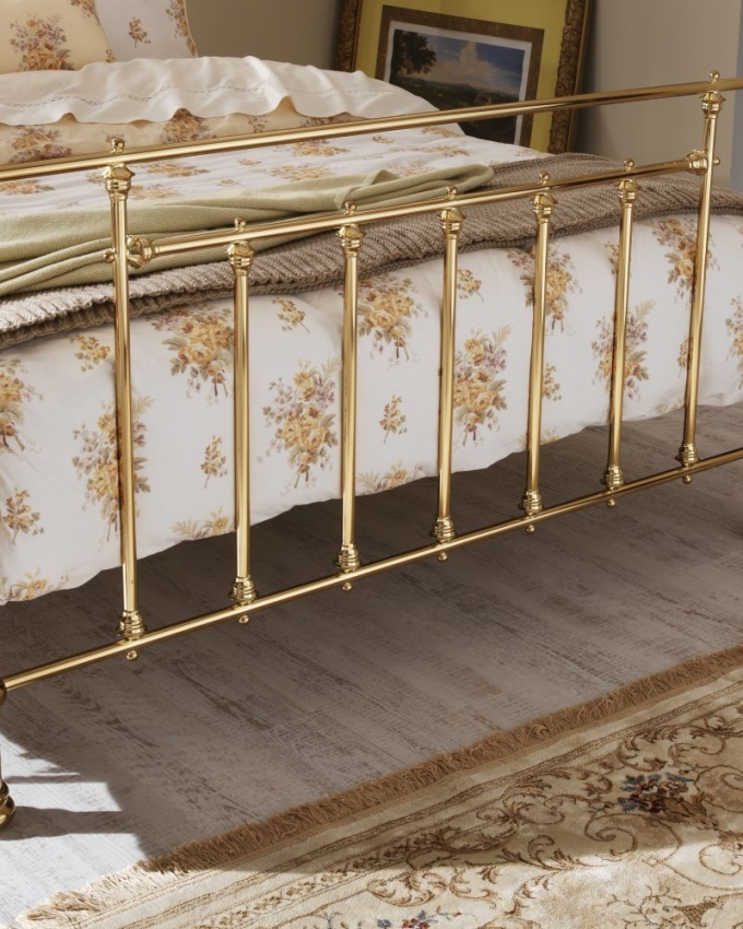 Serene Benjamin Brass Metal Bed