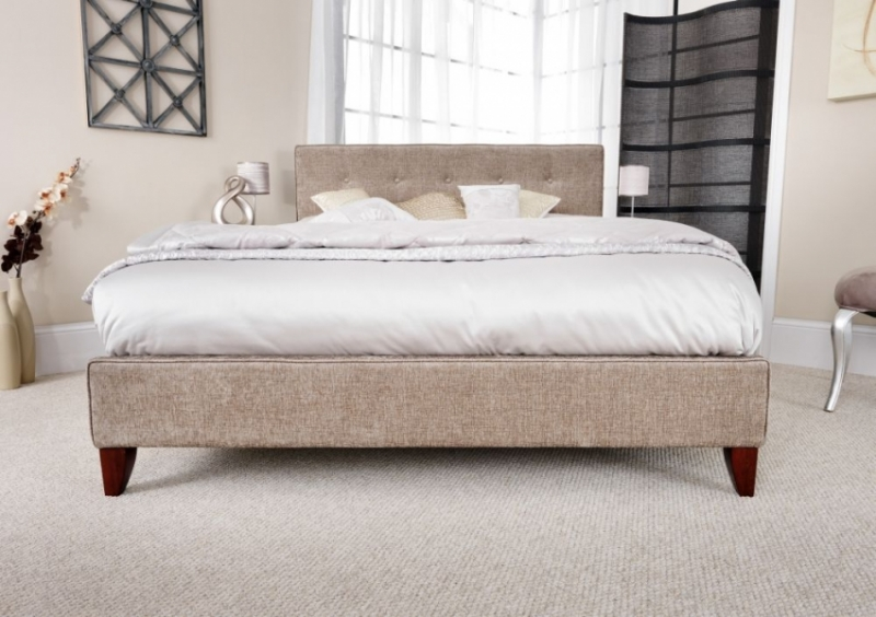 Serene Chelsea Fudge Fabric Bed