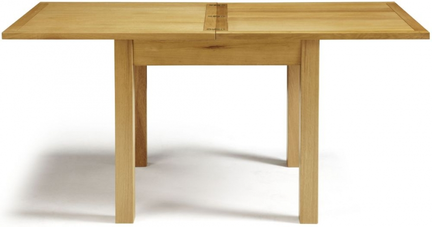 Serene Lambeth Oak Dining Table - Extending