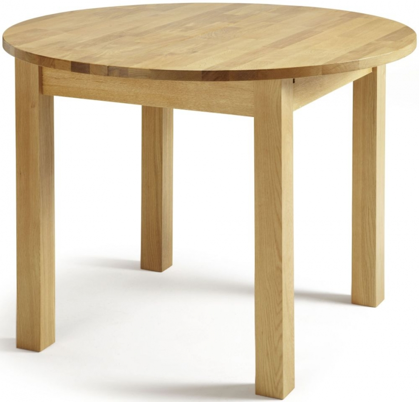 Serene Sutton Oak Dining Table Round Extending Serene  : 4Serene Sutton Oak Dining Table Round Extending 01 from choicefurnituresuperstore.co.uk size 850 x 814 jpeg 263kB