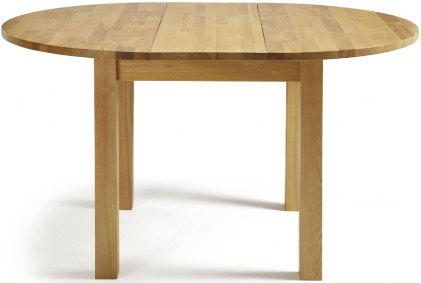 serene sutton oak dining table round extending serene furnishings