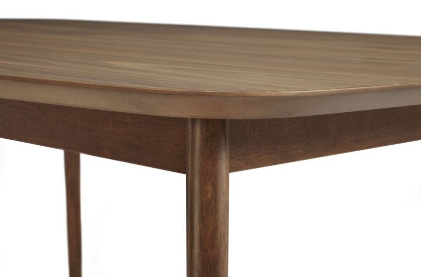 Serene Westminister Walnut Dining Table - 120cm Fixed Top