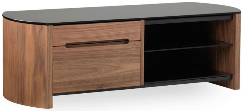 Alphason Finewood  Walnut TV Cabinet - FW1100CB