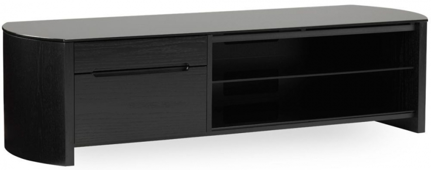 Alphason Finewood Black Oak TV Cabinet for 58inch - FW1350CB-BLK