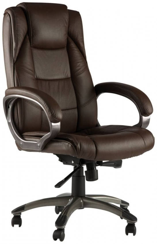 buy alphason northland brown leather faced office chair. Black Bedroom Furniture Sets. Home Design Ideas