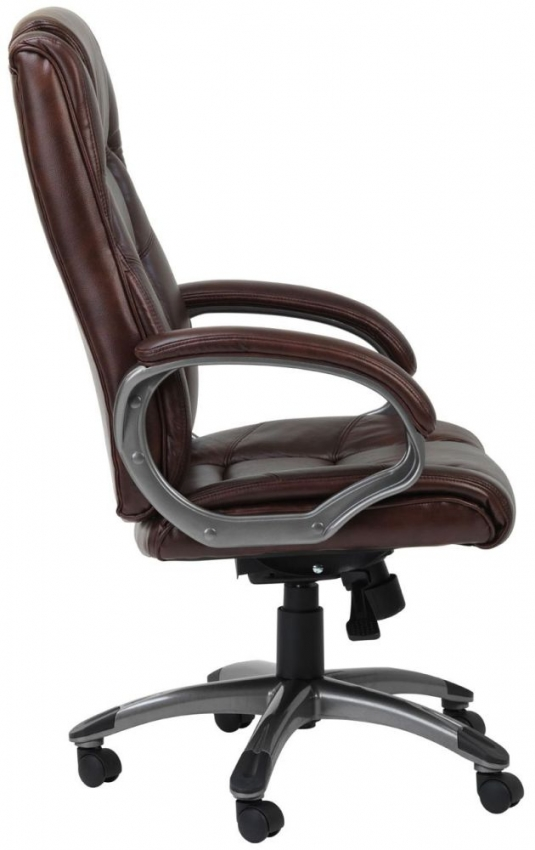 Alphason Northland Brown Leather Faced Office Chair - AOC6332-L-BR