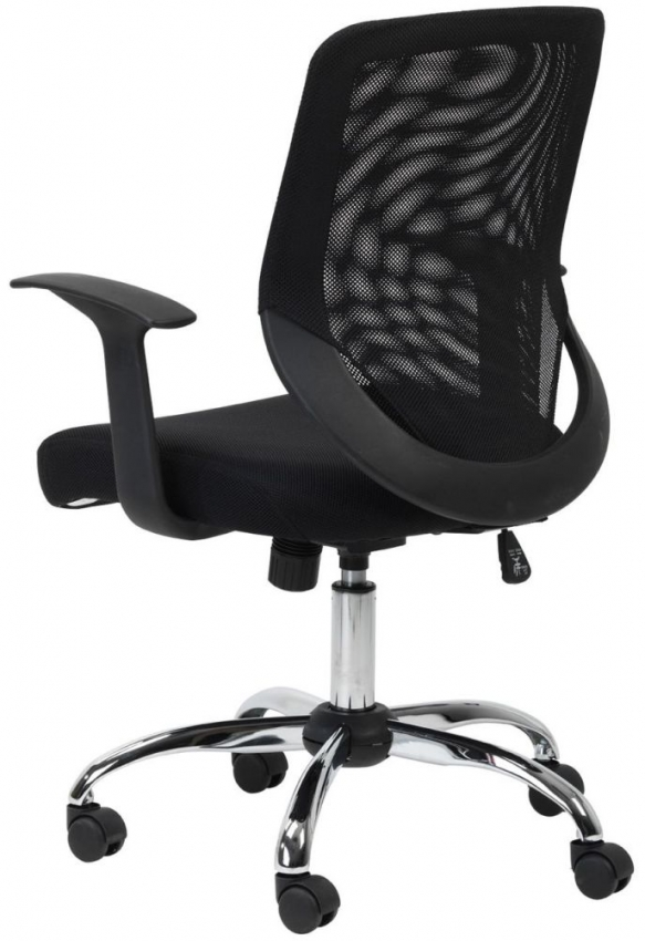 Alphason Atlanta Black Mesh Office Chair - AOC9201-M