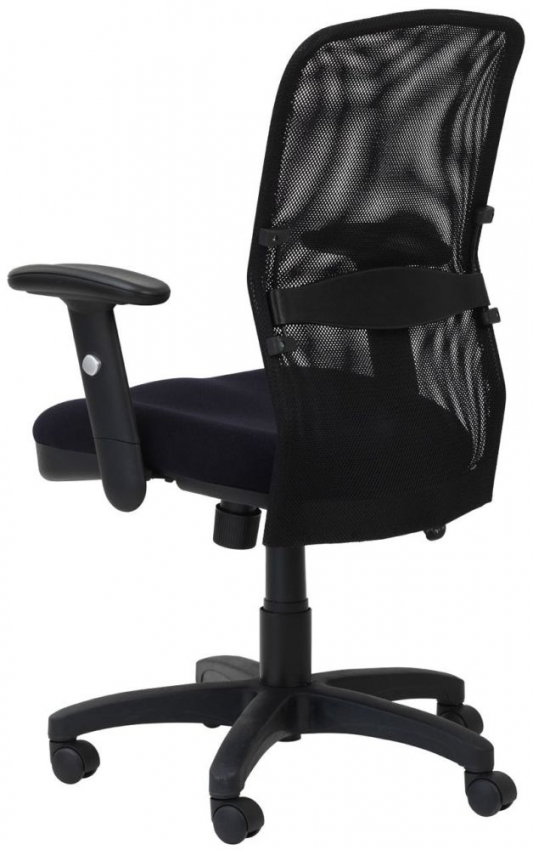 Alphason Dakota Black Fabric Office Chair - AOC9200-M