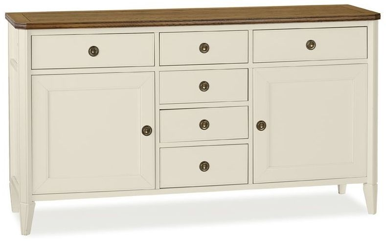 Bentley Designs Sophia Two Tone Sideboard - Wide