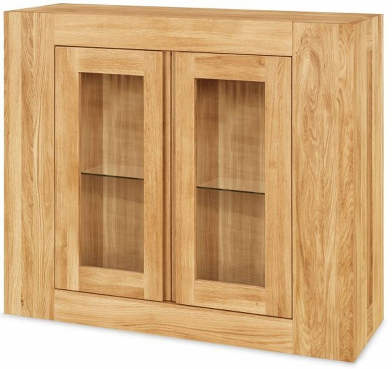 Clemence Richard Massive Oak Wall Hanging Cupboard