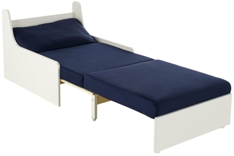 Buy Stompa Blue Single Chair Bed Online Cfs Uk