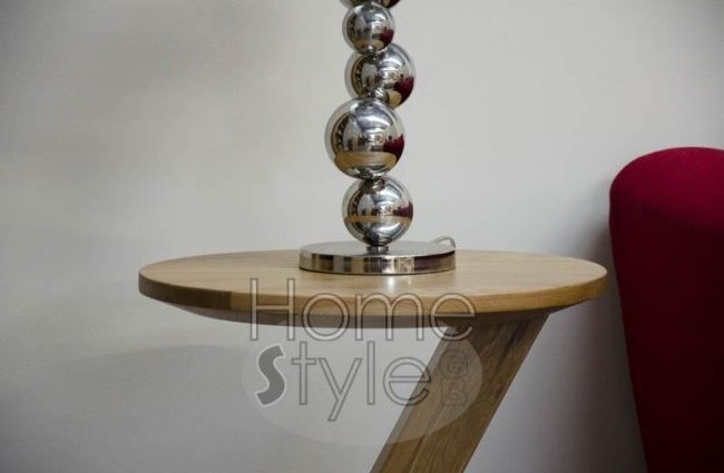 Homestyle GB Z Oak Designer Lamp Table - Modern