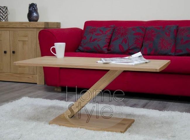 Homestyle GB Z Oak Designer Coffee Table - Modern