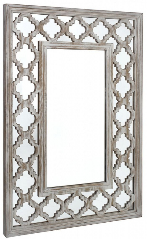Hamlin Beach Rectangular Wall Mirror - 79cm x 118cm