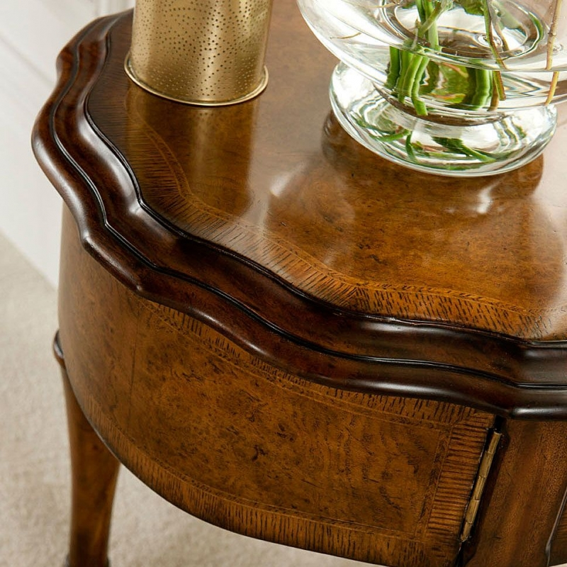 Willis and Gambier Kensington Burl Occasional Table